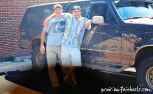 Jon and Tim in Laramie