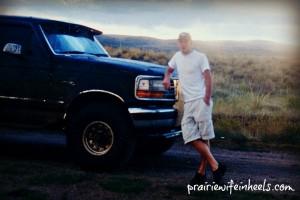 Jon and truck