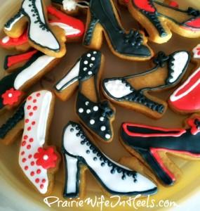 shoe cookies