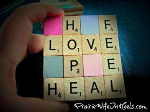 hope love feel