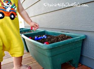 Cowboy C planting bubbles