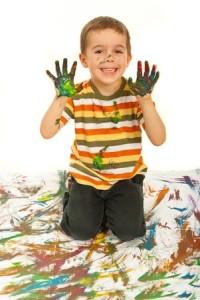 messy kid