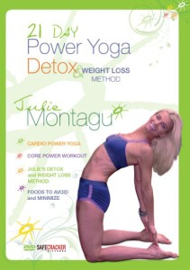 Julie Montagu power yoga DVD
