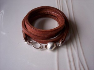 nancy stohl leather wrap bracelet