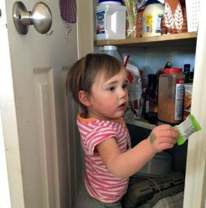 Little Miss H pantry