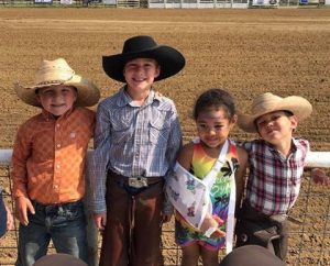 freinds at the rodeo