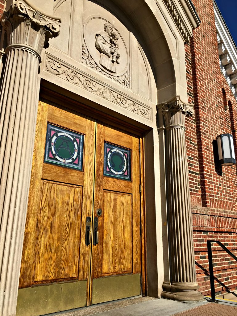 church doors