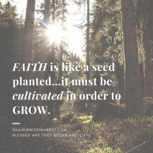 faith is like a seed