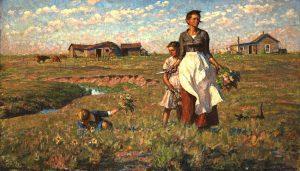 prairie wife painting