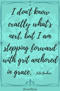 grit anchored in grace