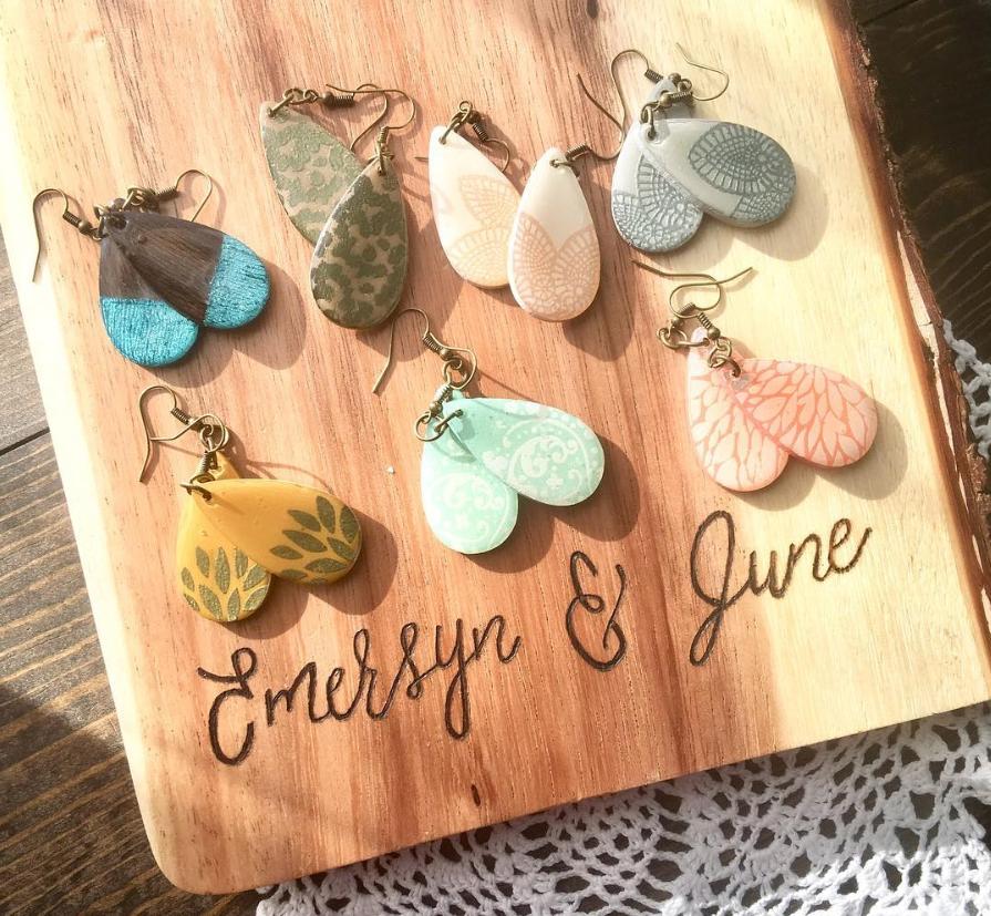Emersyn and June earrings