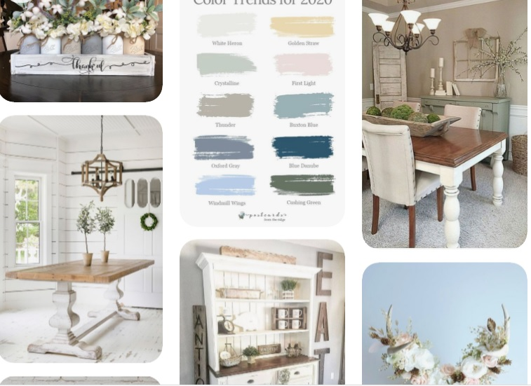 Farmhouse table inspiration