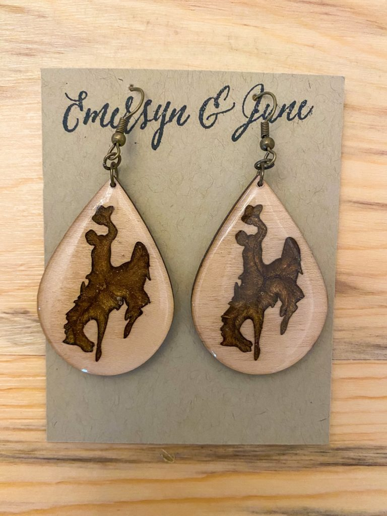 Wyoming Cowboy Earrings